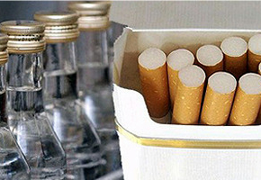 Иллюстрация к новости: Алкоголь и сигареты будут продавать в специализированных