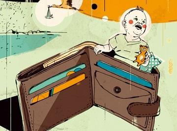 Иллюстрация к новости: в России создадут алиментный фонд
